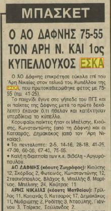 Τελικός Κυπέλλου ΕΣΚΑ Ανδρών 1985-1986