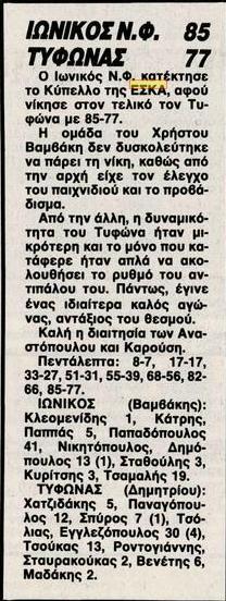 Τελικός Κυπέλλου ΕΣΚΑ Ανδρών 1989-1990