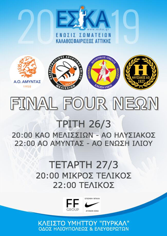 Το Final Four του Τουρνουά Νέων